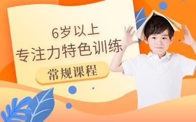 杭州6岁+专注力训练课程