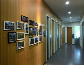 艺术照片走廊
