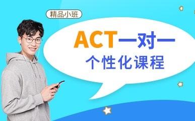 ACT1对1个性化提升课程