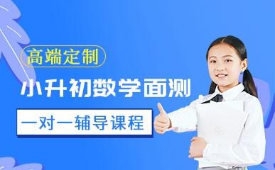 南京小升初数学面测小班
