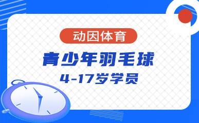 天津4-17岁青少年羽毛球小班