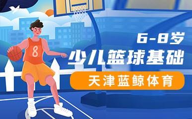 天津6-8岁少儿篮球基础班